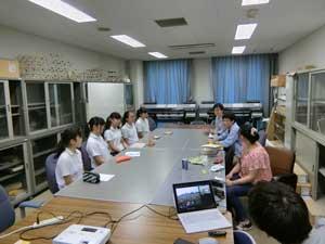 龍谷大学研究室訪問7