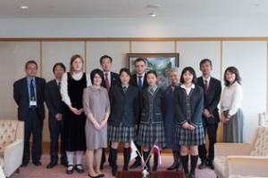 神戸市長への表敬訪問