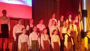 校内音楽祭に参加: ラトビアは世界的に有名な芸術の国